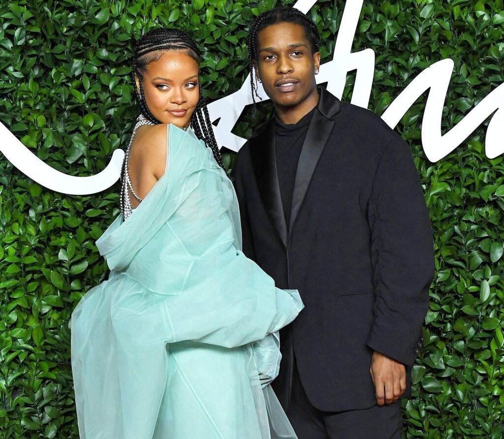 ASAP Rocky and Rihanna dating each other allegedly