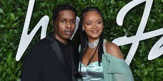 Rihanna pictured with new boyfriend A$AP Rocky: