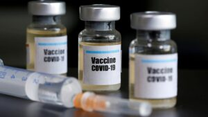 Frontline healthcare workers receive historic COVID-19 vaccine