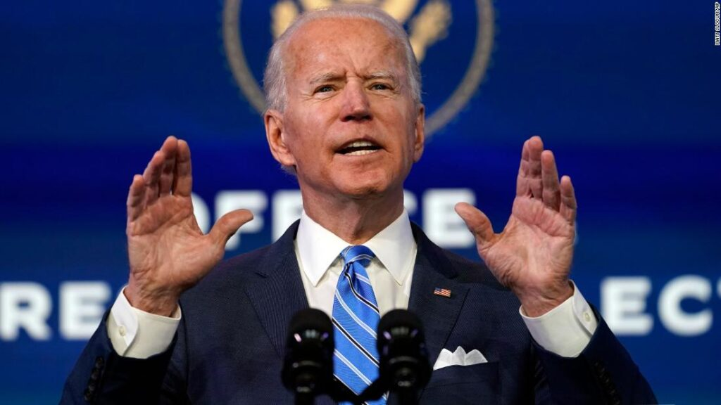 Biden will consult with his advisors