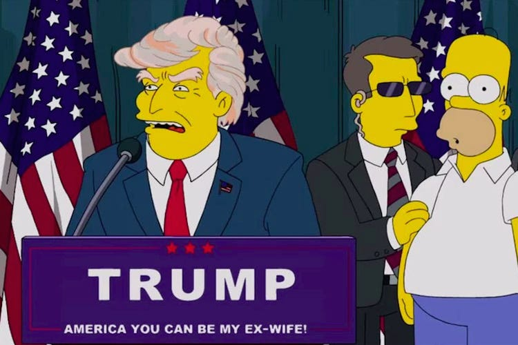 Simpsons predicted many years ago