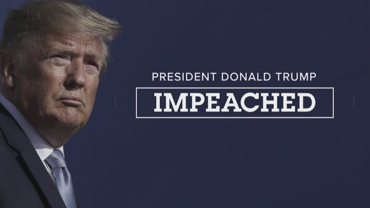 Trump has been impeached