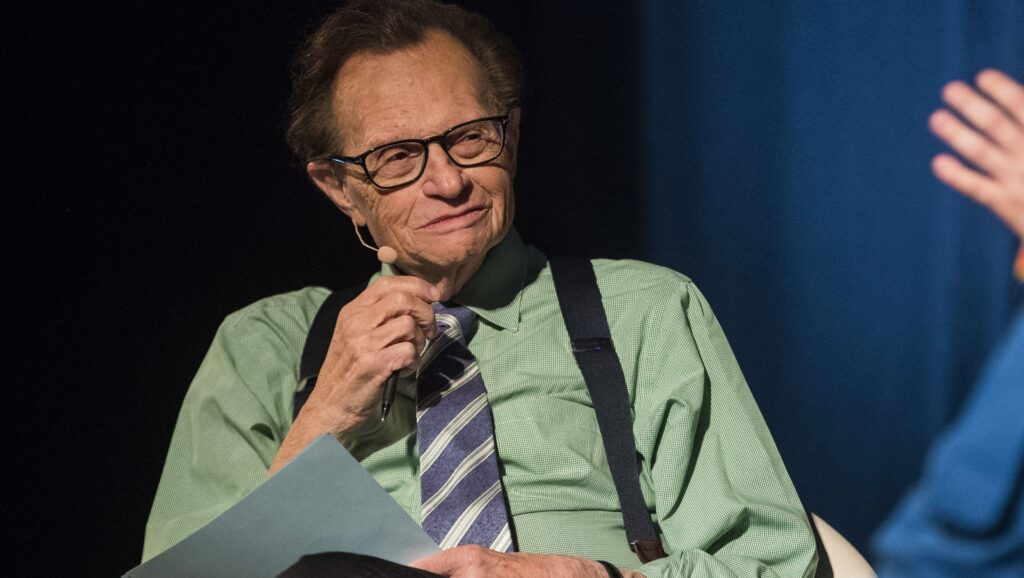 larry king tested positive